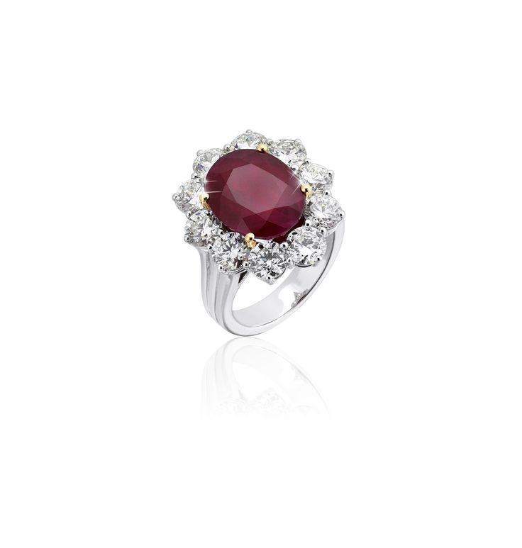 10.51 ct. Burmese Ruby