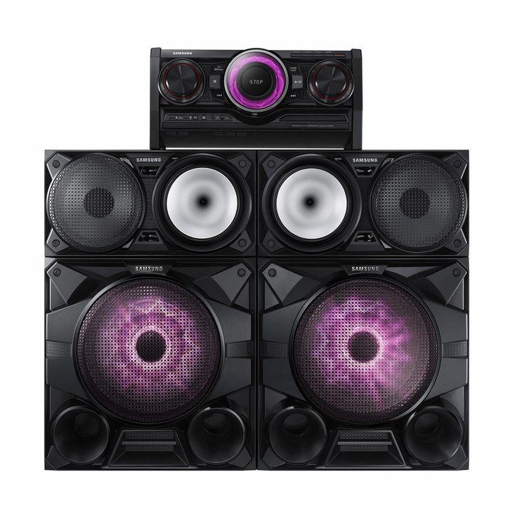 "Samsung MX-HS7000 2300W Giga Sound System 12"" Woofers Bluetooth CD USB"