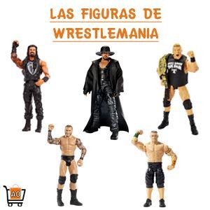 Traemos las figuras de acción de los grandes luchadores de la WWE con sus inigualables movimientos especiales, las llaves, las piruetas y lo mejor de todo, los cinturones de campeones. ¡Viva Wrestlemania!