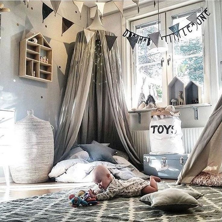 Canopies and Netting 176986: Kids Children Bedding Round Dome Bed Canopy Bedcover Mosquito Net Curtain Home -> BUY IT NOW ONLY: $39.89 on eBay!