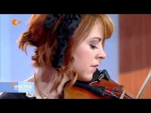 Lindsey Stirling - The Arena Live at ZDF Morgenmagazin - YouTube