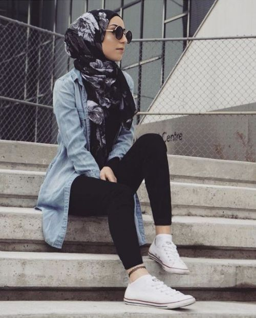 Cute casual hijab fashion – Just Trendy Girls- Tap the link now to see our super collection of accessories made just for you!