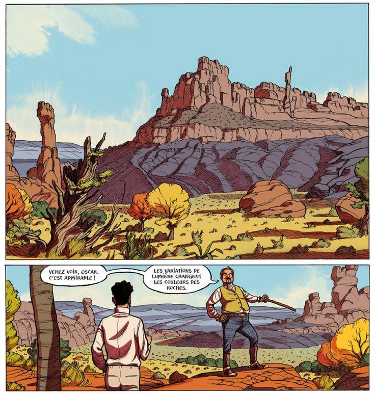 L'Odeur des Garçons Affamés : un drôle de titre pour ce western brûlant par Frederik Peeters et Loo Hui Phang chez Casterman BD. À lire ici : http://www.izneo.com/alb…/l-odeur-des-garcons-affames-A18960