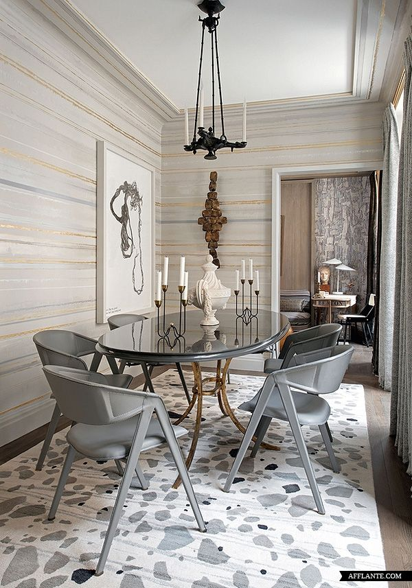 Parisian Apartment of Decorator Jean-Louis Deniot | Afflante.com