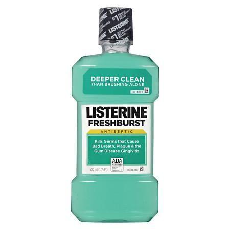 Listerine Freshburst Antiseptic Mouthwash Freshburst - 500 Fl Oz