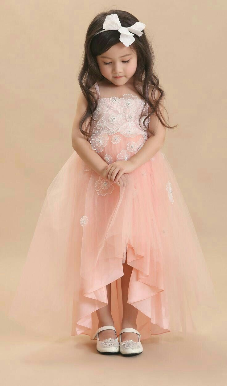 b61fde261a05 Flower girl high low dress