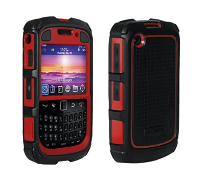 Ballistic HA0433-M355 BlackBerry Accessories HC Case: BlackBerry Curve 2/3 Black/Red