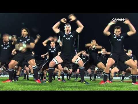 Le Haka de la Nouvelle-Zélande face à la France - YouTube