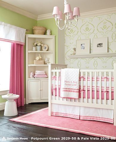 girl nursery by rosemary ideas for our little ones. Black Bedroom Furniture Sets. Home Design Ideas