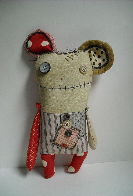 Elspeth Monster Mouse by JunkerJane.