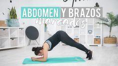 Nueva rutina para tener un abdomen marcado y unos brazos definidos. ¡Es intensa y la podéis hacer en casa! ¿Os animáis a realizarla?