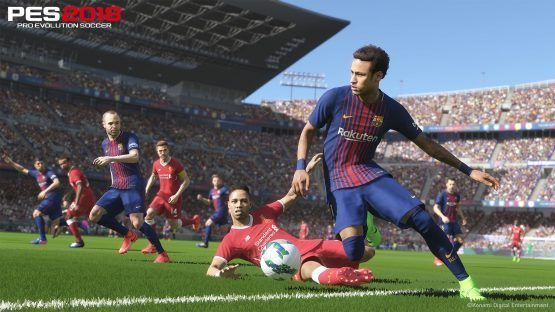 E3 2017  Pro Evolution Soccer 2018 Preview  Online Improvements (PS4)