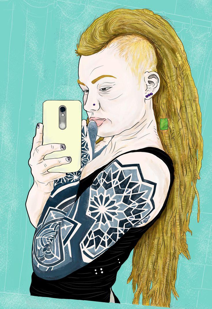 https://flic.kr/p/HyFo1y   Rio Sierhaus    ✪ #SuicideGirls  PNG · Practice drawing trace  ∼ Medibang Paint pro