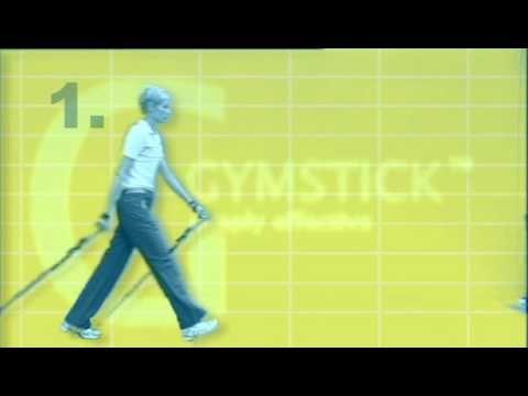 Gymstick Nordic Walking technique