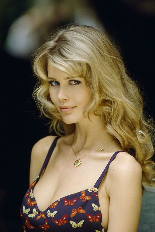 Claudia Schiffer. this whole list is hooded-eye beauties.