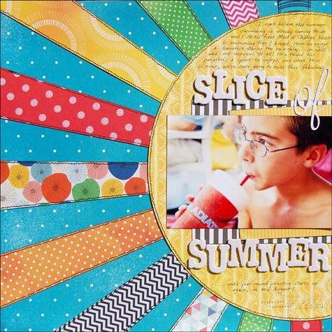 Slice of Summer - Scrapbook.com