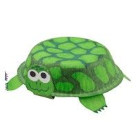 """This is a cute tortoise project for Roald Dahl's story """"Esio Trot"""" using paper bowls and green paint.  I would purchase at least 3 different sizes of paper bowls to show how Mr. Hoppy tries to make Mrs. Silver believe that Alfie is growing.  These tortoises would look cute on an """"Esio Trot"""" bulletin board display and give it a fun 3 dimensional effect."""