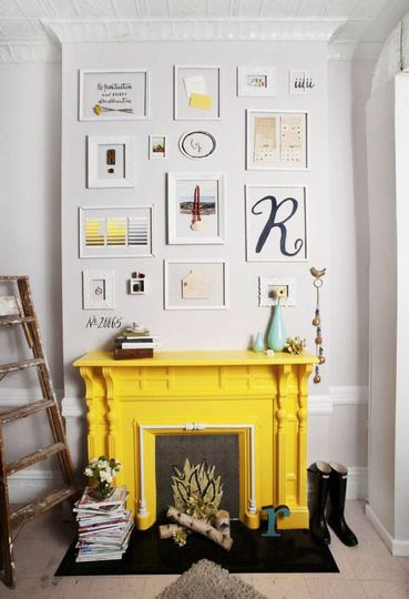 Framing items hung on the wall - Apartment Therapy