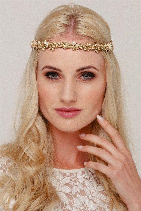 vintage inspired gold wedding hair accessory – Helen Irene Handmade