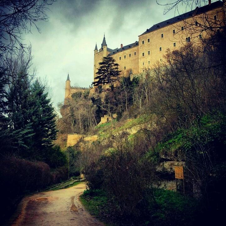 Segovia' fairytale castle