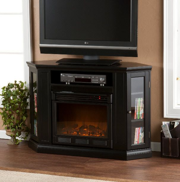 3 Reasons You Should Never Mount A TV Above A Fireplace. Storage Shelves Media ...