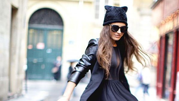 Calling All Crazy Cat Ladies! Winter Hats Now Come Complete With Cute Kitten Ears
