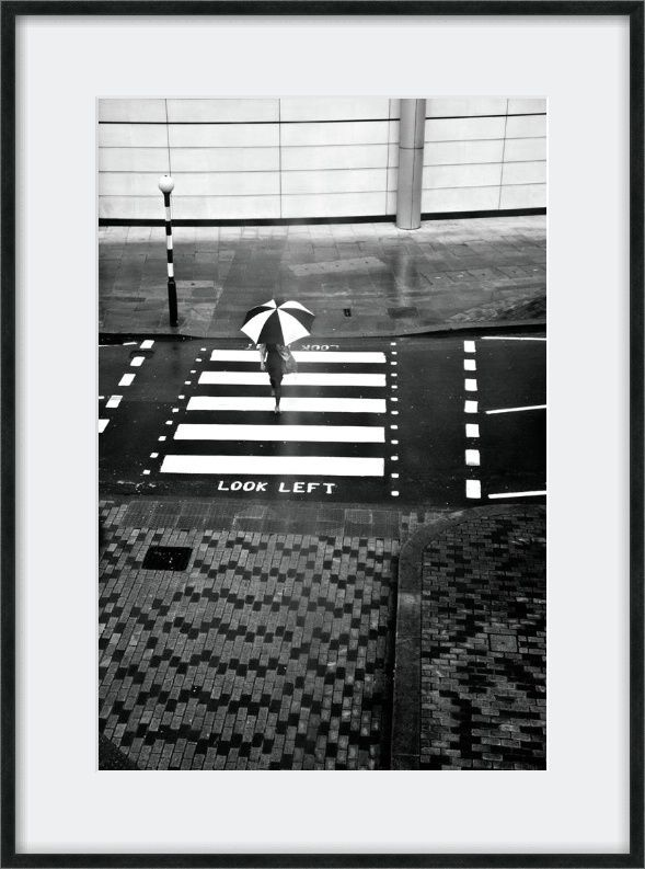 Black and white print photography london photography street photography fine art photography photography print stripes zebra crossing
