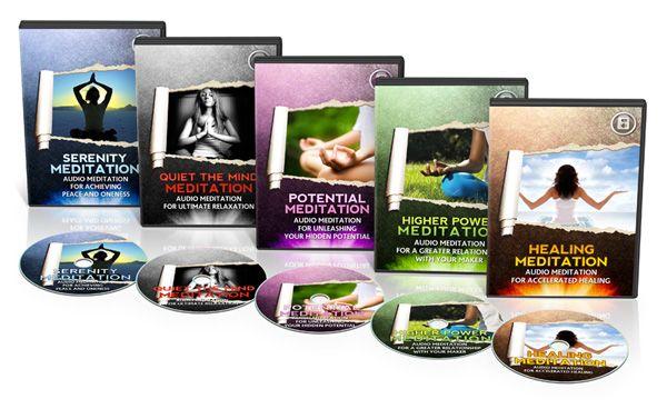 Meditation and Yoga Books and Audios $19.99