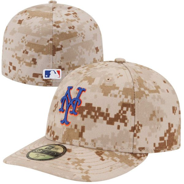 Men's New York Mets New Era Camo Authentic Collection Low Profile Home 59FIFTY Fitted Hat, $34.99 http://shareasale.com/m-pr.cfm?merchantid=62865&userid=646297&productid=613266155&afftrack=
