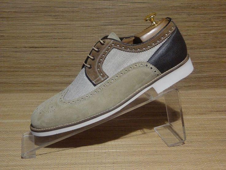 LIPARI  #scarpe sportive e informali realizzate con una combinazione di pallami