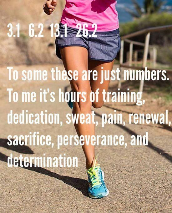 I've done 3.1 miles and 6.2 miles. Never done 13.1 or 26.2 miles though...! Maybe 2015 will be the year??