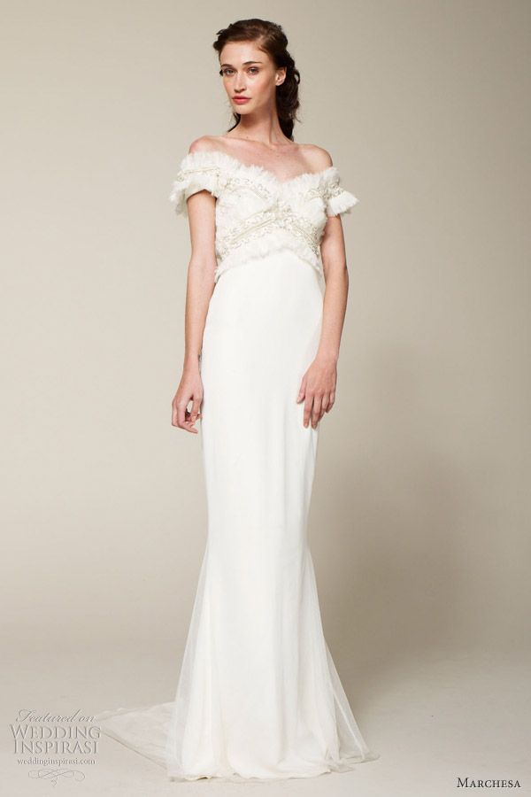 Marchesa Bridal Spring 2013 Wedding Dresses   Wedding Inspirasi