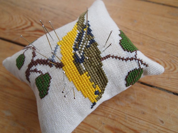 Pincushion redesign of Bell string
