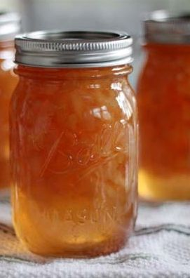 Ginger Pear Preserves - Classic Ginger Pear Preserves recipe - originally published in our 125th Anniversary Cookbook, which included a compilation of recipes from our packaging and earlier days cookbooks. #ginger #pear #preserves