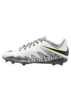 Nike Performance - HYPERVENOM PHELON II FG - Chaussures de foot à crampons - pure platinum/black/ghost green/cool grey/metallic silver/clear jade