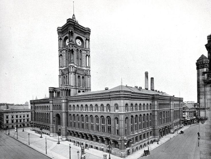 1905 Rotes Rathaus