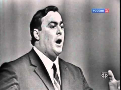 Pavarotti La Donna e Mobile Moscow 1964