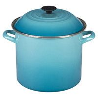 Le Creuset 10-Quart Stock Pot in Caribbean