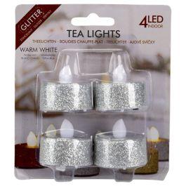 bougies chauffe-pl. LED paill. 4pcs - 100 derniers articles  - Action France