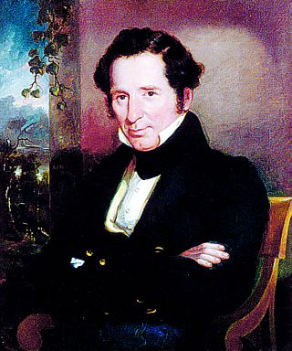Johns Hopkins (1795-1873) born in Anne Arundel County was a philanthropist and financier. Before his death he bequeathed seven million to found a free hospital, now Johns Hopkins Hospital, and Johns Hopkins University, both located in Baltimore.