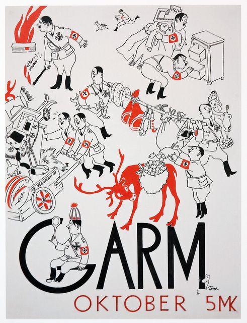 Garm magazine cover by Tove Jansson. Source: Design Forum Finland