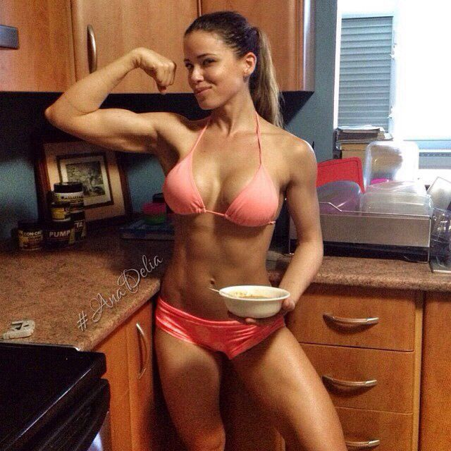 Ana Du0027s Kitchen Attire Should Be The Norm @ Your Guy Will Really Love You  For It :D | Fitness | Pinterest | Fitness Modeling, Bodybuilding Women And  ...