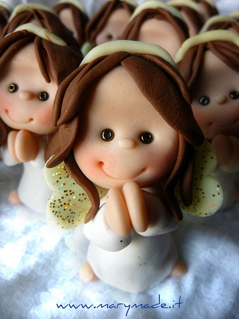 close up - angel by marytempesta, via Flickr