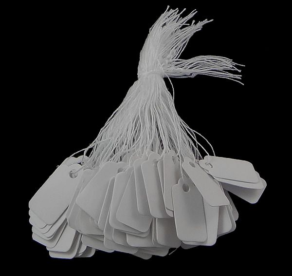 500 pcs bijoux Strung prix étiquettes de prix avec chaîne en argent marchandises tissu étiquette livraison gratuite dans Bijoux Packaging & Display de Bijoux et Accessoires sur AliExpress.com | Alibaba Group