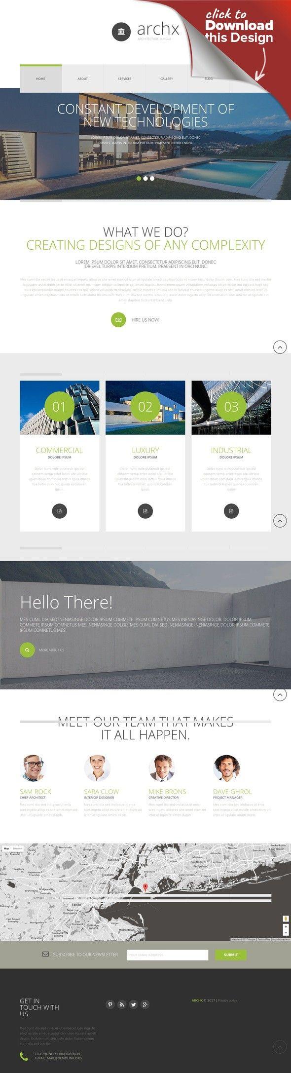 Architecture Responsive Joomla Template CMS & Blog Templates, Joomla Templates, Design & Photography, Design, Architecture
