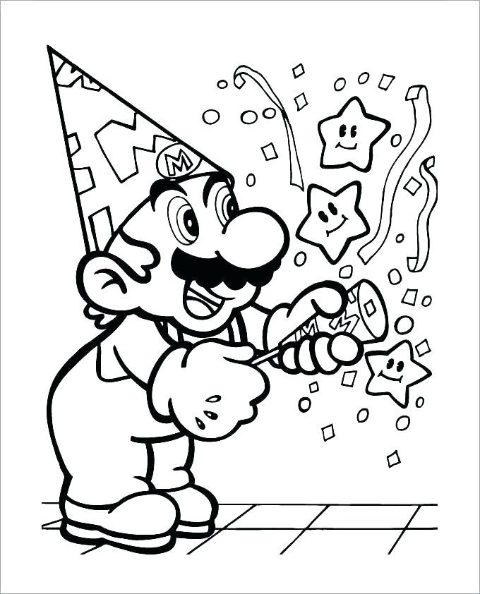 Super Mario Coloring Page Luxury Photos Mario Coloring Pages Line