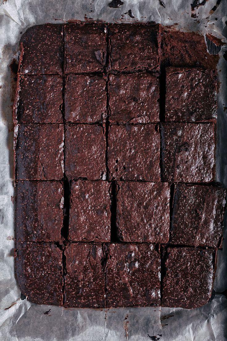 Пошаговый рецепт простого брауни из какао-порошка