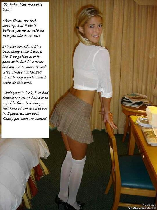 Catholic schoolgirl dressup on cam