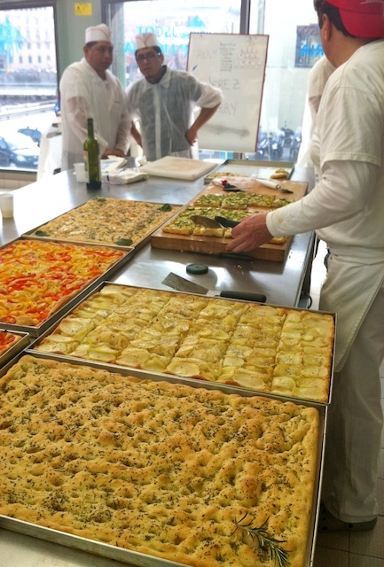 #Focaccia in #Genoa, Italy...oh my goodness, there are days I still crave the Focaccia!