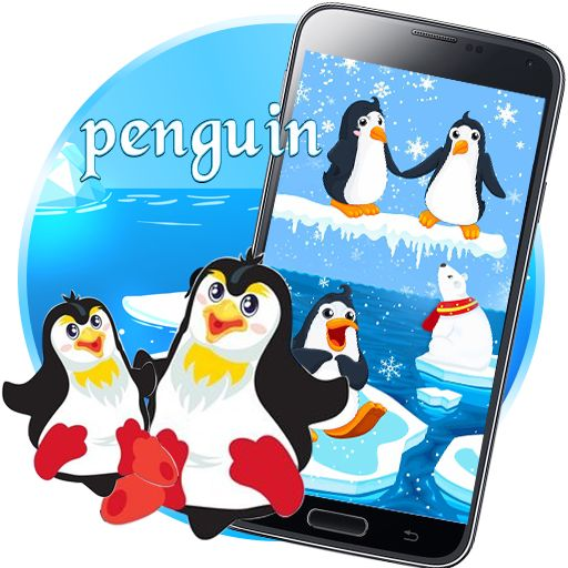 Bring These Cuties To Your Phones Download The Iceberg Penguin Live Wallpaper Snow